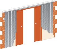 Stavební pouzdro JAP 715 Komfort do sádrokartonu 2050 mm