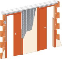 Stavební pouzdro JAP 720 Unibox ZEĎ 1000+1000 mm