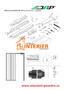 Sada pro jednokřídlé dřevěné dveře JAP AKTIVE / EMOTIVE STANDARD - 2/2