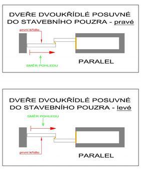 Stavební pouzdro JAP 730 Parallel do sádrokartonu 2250 mm - 3