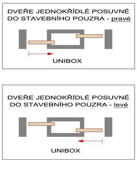 Stavební pouzdro JAP 720 Unibox ZEĎ 1000+1000 mm - 3