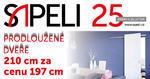 AKCE SAPELI 2017 - atypická výška dveří 2100 mm bez příplatku!