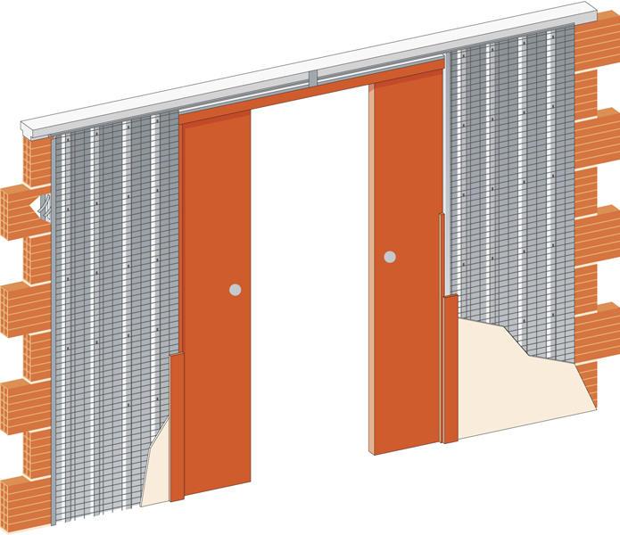 Stavební pouzdro JAP 715 Komfort ZEĎ 2050 mm